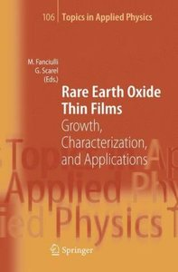 Rare Earth Oxide Thin Films