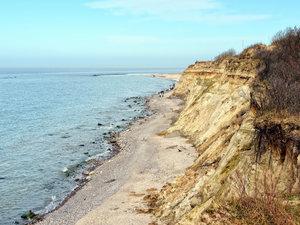 CALVENDO Puzzle Blick aufs Meer bei Wustrow 1000 Teile Lege-Größ