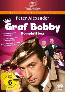 Peter Alexander: Graf Bobby Komplettbox - Die komplette Filmtril