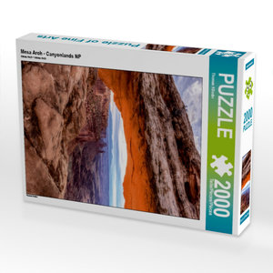 Mesa Arch - Canyonlands NP 2000 Teile Puzzle hoch