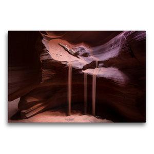 Premium Textil-Leinwand 75 cm x 50 cm quer Antelope Canyon - Ari