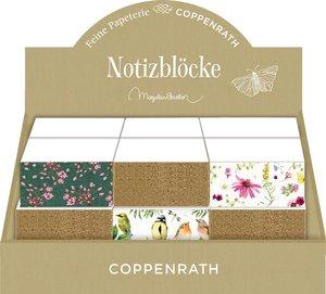 Zettelblöcke mit Farb- und Glitterschnitt - Gartenliebe