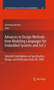 Advances in Design Methods from Modeling Languages for Embedded