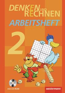 Denken und Rechnen 2. Arbeitsheft mit CD-ROM. Grundschulen in de