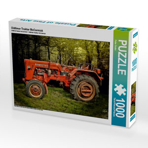 Oldtimer Traktor McCormick 1000 Teile Puzzle quer