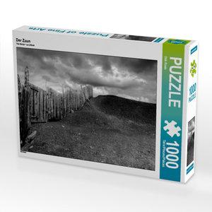 Der Zaun 1000 Teile Puzzle quer