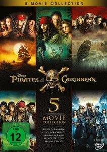 Pirates of the Caribbean - Fluch der Karibik 1-5