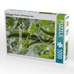Gurken 1000 Teile Puzzle hoch