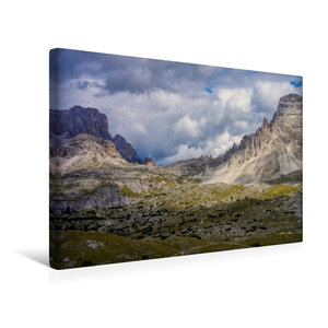 Premium Textil-Leinwand 45 cm x 30 cm quer Dreizinnenhütte