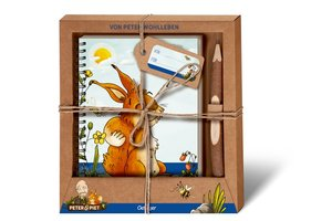 Peter & Piet. Geschenkset Notizbuch & Zweigstift