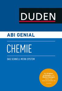Abi genial Chemie. Das Schnell-Merk-System (SMS). Buch mit Onlin