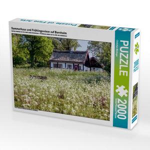 Sommerhaus und Frühlingswiese auf Bornholm 2000 Teile Puzzle que