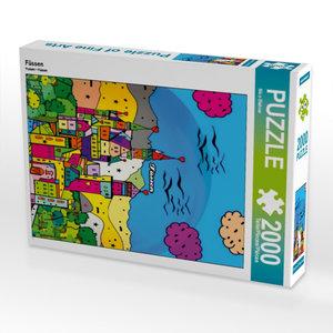 Füssen 2000 Teile Puzzle hoch