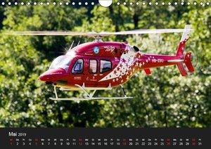 Modellhelis (Wandkalender 2019 DIN A4 quer)