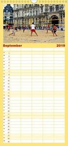 Volleyball Action - Familienplaner hoch (Wandkalender 2019 , 21