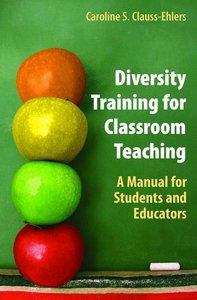 Diversity Training for Classroom Teaching