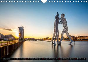 Berlin - Bilder einer Metropole (Wandkalender 2019 DIN A4 quer)