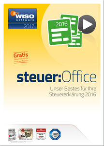 WISO steuer:Office 2017 (Steuerjahr 2016)