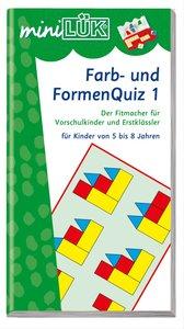 LÜK mini. Farb- und Formen-Quiz 1