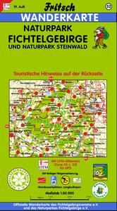Naturpark Fichtelgebirge, Naturpark Steinwald 1 : 50 000. Fritsc