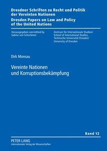 Vereinte Nationen und Korruptionsbekämpfung