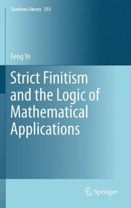 Strict Finitism and the Logic of Mathematical Applications