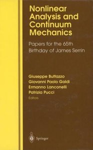 Nonlinear Analysis and Continuum Mechanics