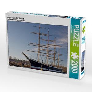 CALVENDO Puzzle Segelschulschiff Passat 2000 Teile Lege-Größe 90