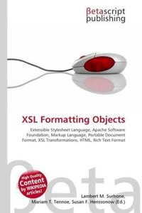 XSL Formatting Objects