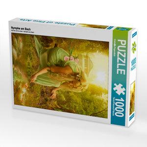 CALVENDO Puzzle Nymphe am Bach 1000 Teile Lege-Größe 48 x 64 cm