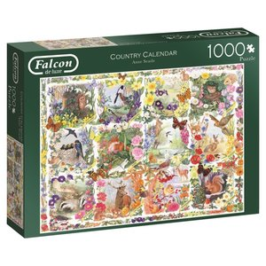 Country Calendar - 1000 Teile Puzzle