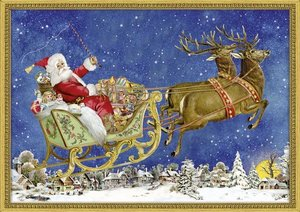 Nostalgischer Weihnachtsschlitten