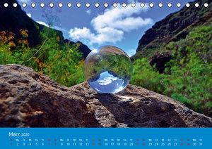 Mystische Kugelfotografie - mit der Glaskugel auf Teneriffa (Tis