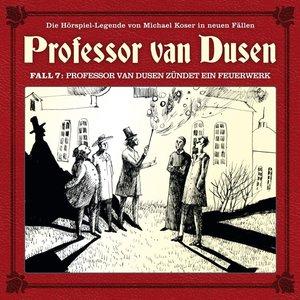 07:Professor van Dusen zündet ein Feuerwerk