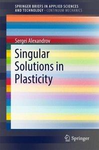 Singular Solutions in Plasticity