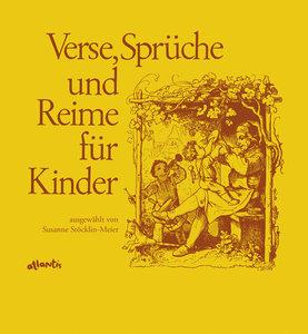 Verse, Sprüche und Reime für Kinder in Schweizerdeutsch