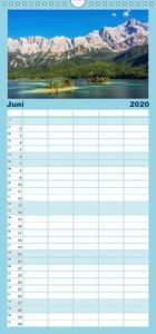 Naturparadies Zugspitzarena - Familienplaner hoch (Wandkalender