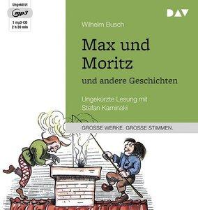 Max und Moritz und andere Geschichten, 1 Audio-CD, MP3 Format