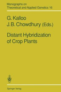 Distant Hybridization of Crop Plants