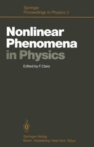 Nonlinear Phenomena in Physics