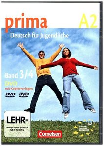 Prima A2: Band 3 und 4. Video-DVD