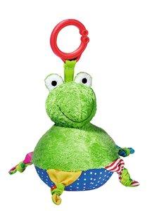 Lustiger Schaukel-Frosch