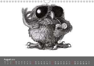 TIERONISCH (Wandkalender 2019 DIN A4 quer)