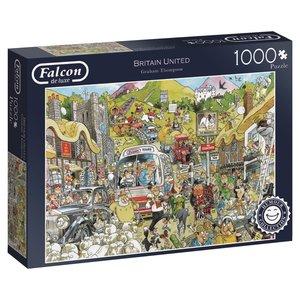 Falcon 11213 - De Luxe, Britain United, Puzzle, 1000 Teile