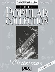 Popular Collection Christmas. Saxophone Alto Solo