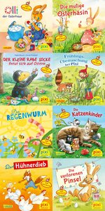Pixi-Serie Nr. 235: Ostern und Frühling mit Pixi - mit Stickern.