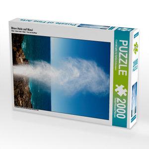 Blow Hole auf Maui 2000 Teile Puzzle hoch
