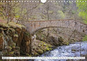 Harz - Ausflugsziele vom Brocken bis Sangerhausen (Wandkalender