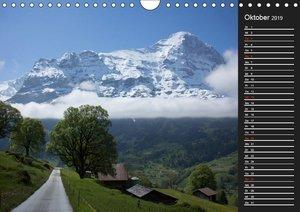 Der Eiger (Wandkalender 2019 DIN A4 quer)