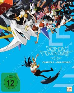 Digimon Adventure tri. - Chapter 6 - Our Future, 1 Blu-ray